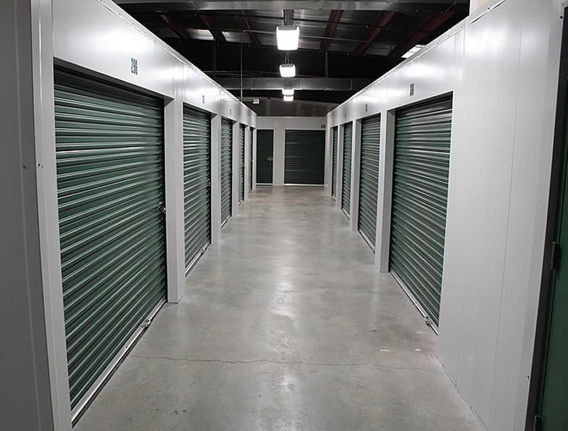 Inside Heated Storage & Our Self Storage Units